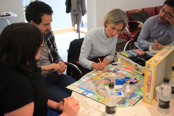 Workshop 3: Graffiting board game physical/digital (2/2).
